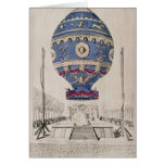 The Montgolfier Brothers' Balloon Experiment Greeting Card