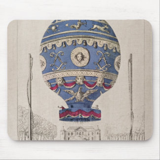 The Montgolfier Brothers' Balloon Experiment Mouse Pad