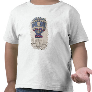 The Montgolfier Brothers' Balloon Experiment T-shirts