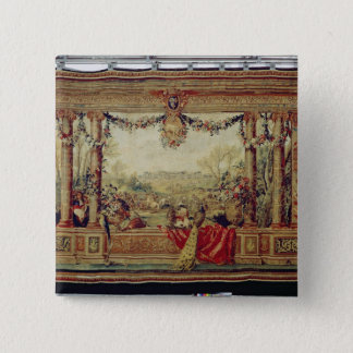 The Month of April/ Chateau of Versailles Button