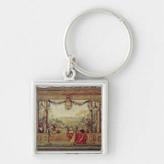The Month of April/ Chateau of Versailles Keychain