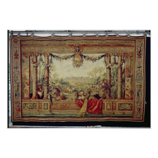 The Month of April/ Chateau of Versailles Print
