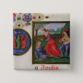 The Month of April: In the Meadows Pinback Button