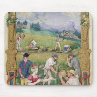 The Month of August: The Harvest Mouse Pad