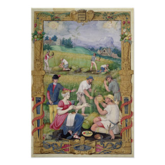 The Month of August: The Harvest Poster