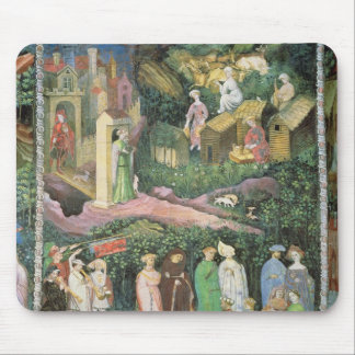 The Month of June, c.1400 Mouse Pad
