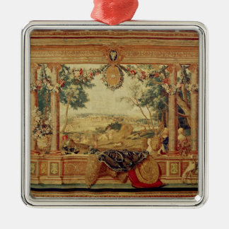 The Month of June/ Chateau of Fontainebleau Christmas Tree Ornament