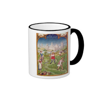 The Month of June Ringer Coffee Mug