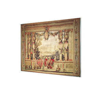 The Month of November/ Chateau of Blois Gallery Wrap Canvas