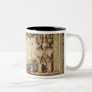 The Month of November/ Chateau of Blois Two-Tone Coffee Mug