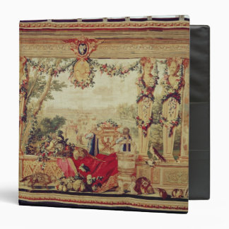 The Month of October/ Chateau of the Tuileries 3 Ring Binder