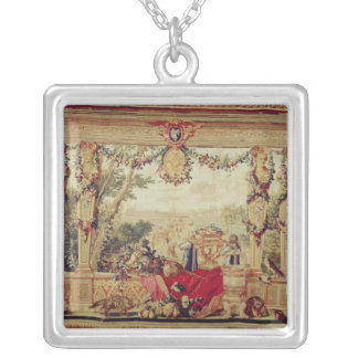 The Month of October/ Chateau of the Tuileries Personalized Necklace