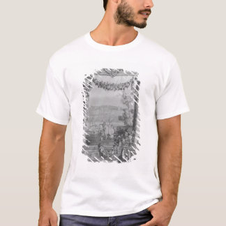 The Months or Royal Residences' tapestry T-Shirt