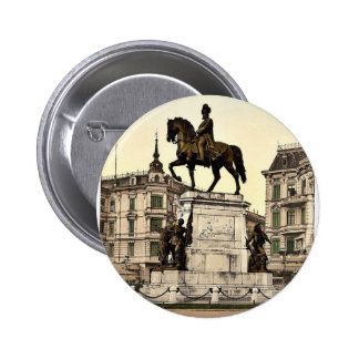 The Monument of Emperor William I, Stettin, German Pins