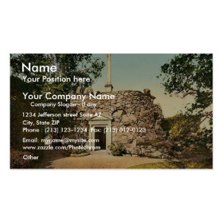 The Monument, park of Worlitz, Anhalt, Germany vin Double-Sided Standard Business Cards (Pack Of 100)