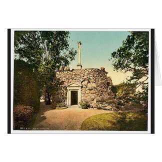 The Monument, park of Worlitz, Anhalt, Germany vin Greeting Card