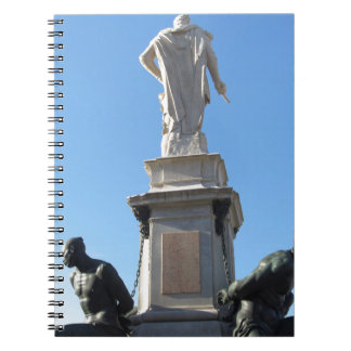 The monument Quattro Mori ( of the Four Moors ) Notebook