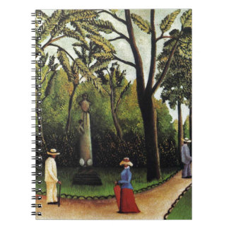 The Monument to Chopin in the Luxembourg Gardens Notebook