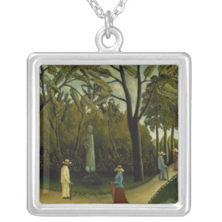 The Monument to Chopin Silver Plated Necklace