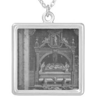 The Monument to Henry II and Richard I Silver Plated Necklace