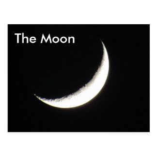 The Moon # 1 - Learning Postcard