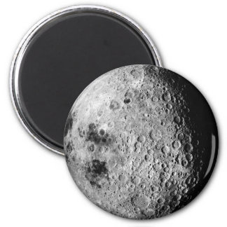 The Moon 2 Inch Round Magnet