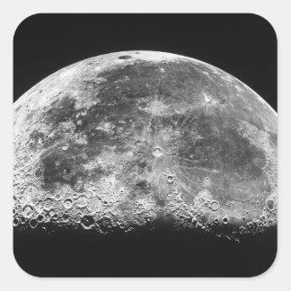 The Moon 2 Square Sticker
