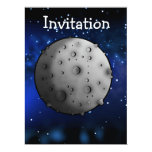 The Moon 6.5x8.75 Paper Invitation Card
