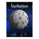 The Moon 6.5x8.75 Paper Invitation Card