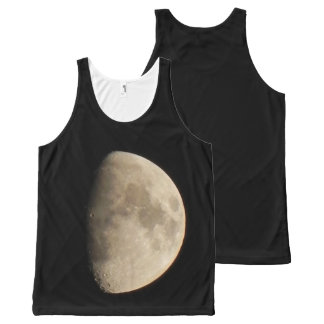the moon All-Over-Print tank top