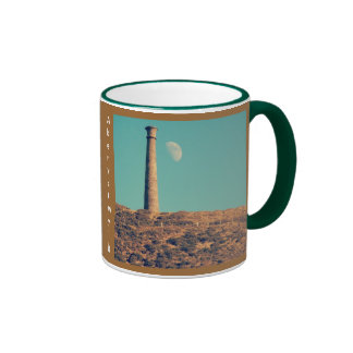 The Moon and a Tower: Aberystwyth Ringer Coffee Mug