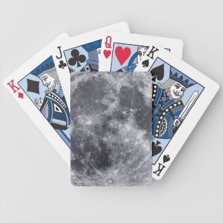 The Moon Bicycle Playing Cards