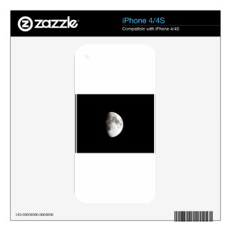 The Moon Decals For iPhone 4S