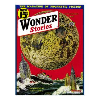 The Moon Doom! Postcard