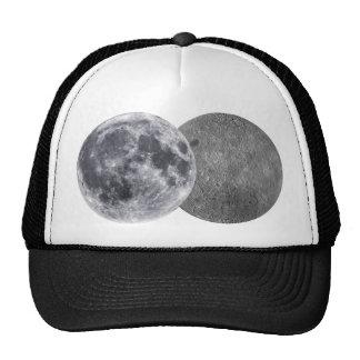 The Moon, Earth Side & Far Side Trucker Hat