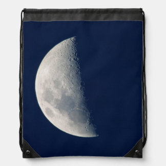 The Moon From Howick, Kwazulu-Natal Drawstring Backpack