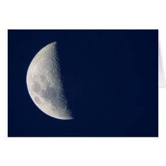 The Moon From Howick, Kwazulu-Natal Greeting Card