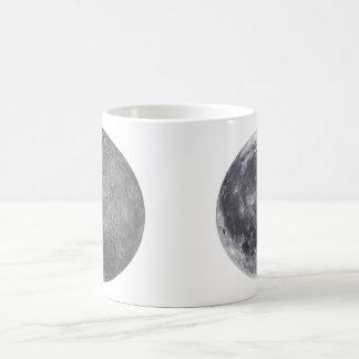 The Moon - Front & Farside Coffee Mug