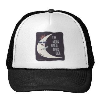 The Moon Has A Dark Side Trucker Hat