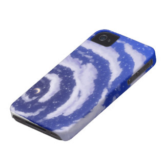 The Moon in the sky Blackberry Case