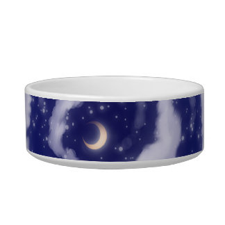 The Moon in the sky Pet Bowl