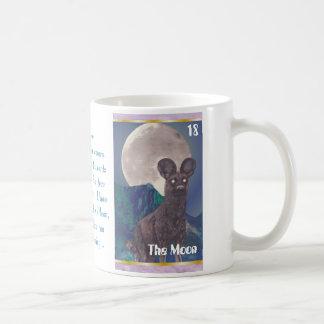 The Moon Basic White Mug