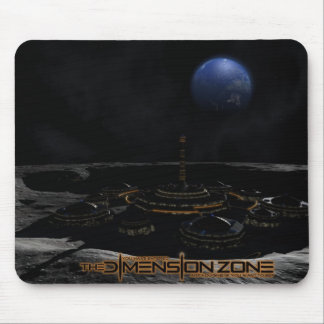 The Moon Outpost Mouse Pad