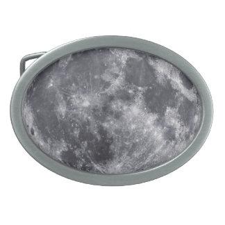 The Moon Oval Belt Buckle