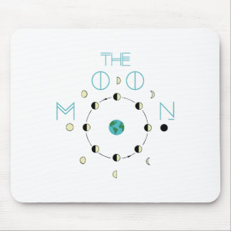 The Moon Phases Mouse Pad