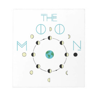 The Moon Phases Notepad