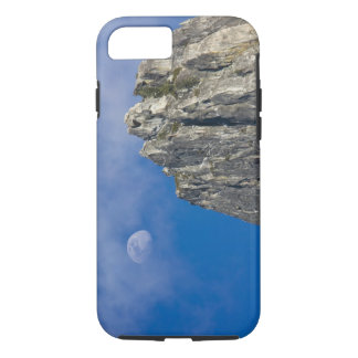 The moon rises and shines through the clouds iPhone 8/7 case