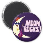 The Moon Rocks Cartoon Refrigerator Magnet
