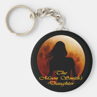 The Moon Smith's Daughter Basic Round Button Keychain