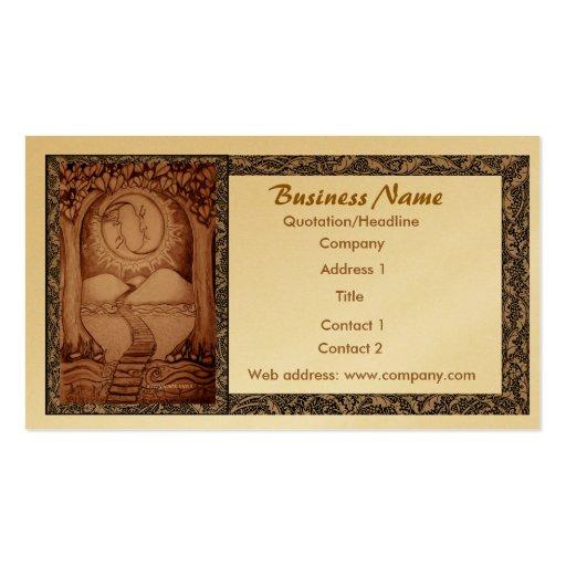 tarot business card business card templates bizcardstudio. Black Bedroom Furniture Sets. Home Design Ideas